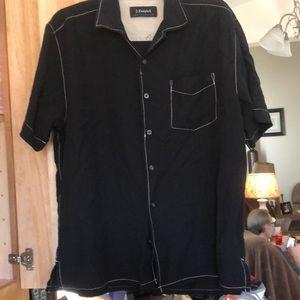 J Campbell cotton and silk shirt